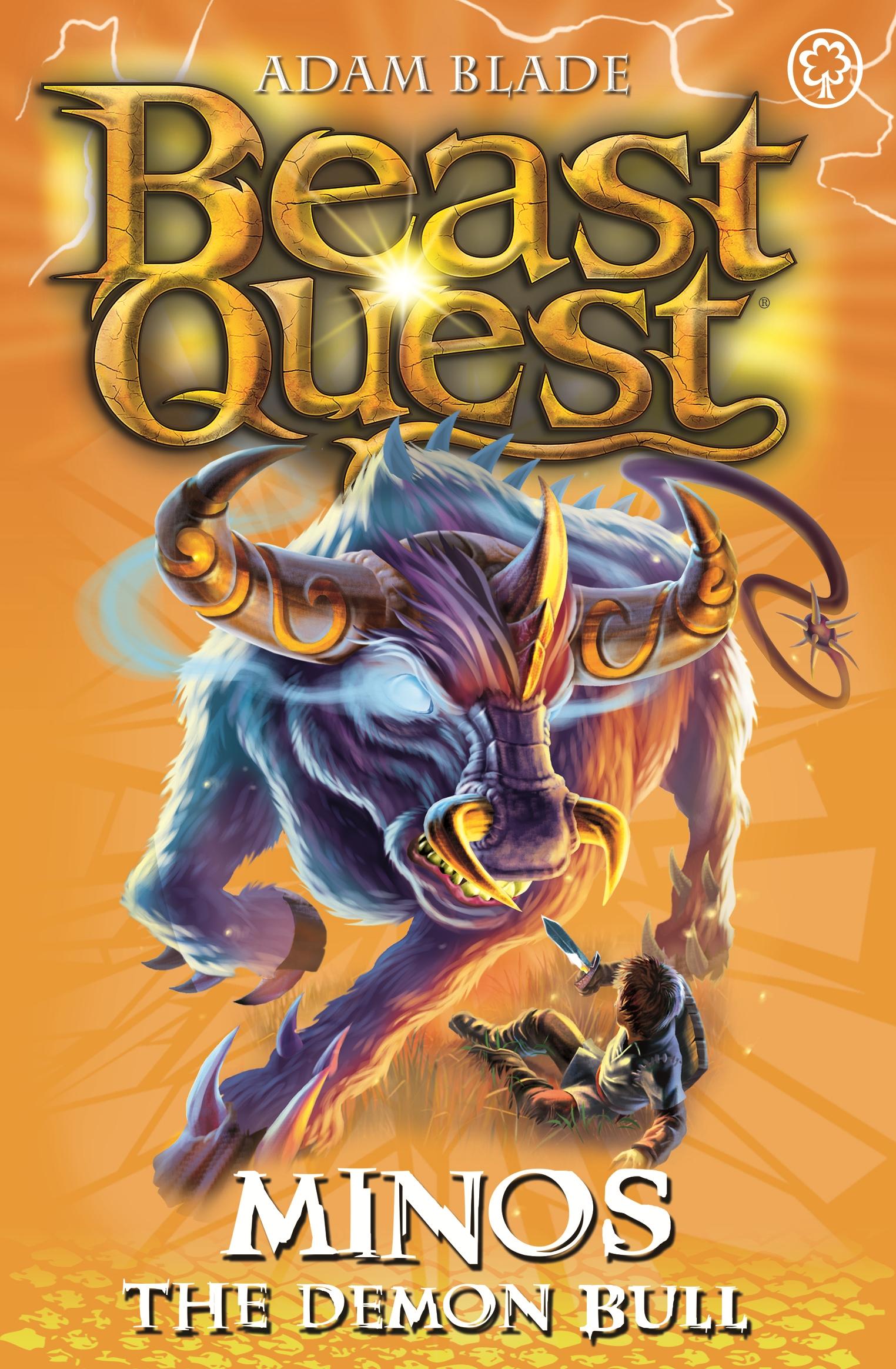beast quest minos the demon bulladam blade  hachette