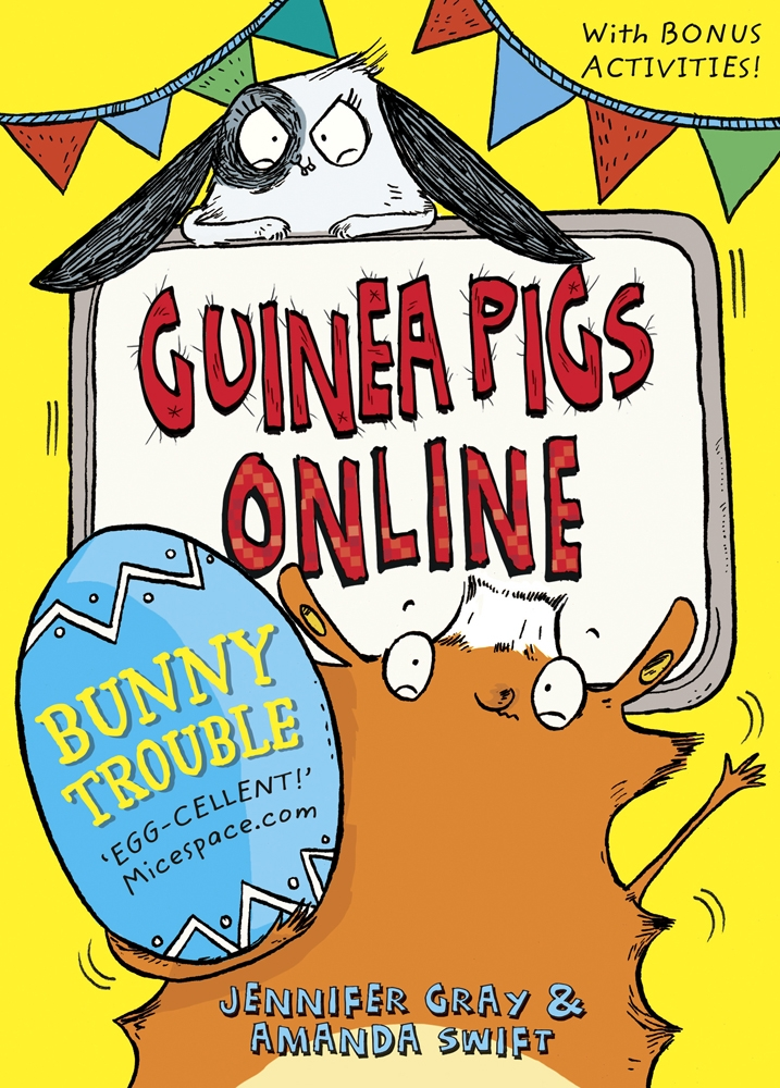 Guinea Pigs Online: Bunny Trouble by Sarah Horne   Hachette Childrens UK
